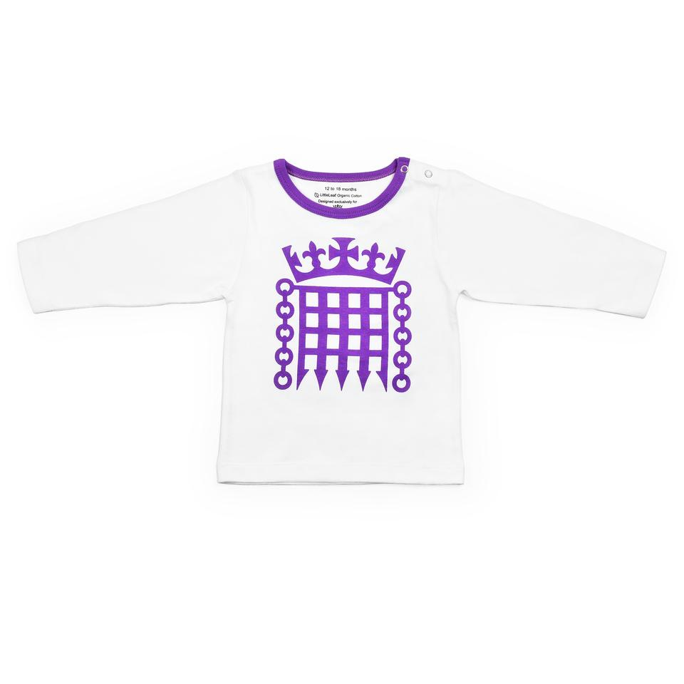 Houses of Parliament Children's Long Sleeve T-Shirt