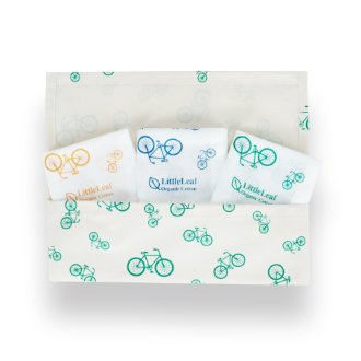 Bicycle Handkerchiefs in Bicycle Pouch