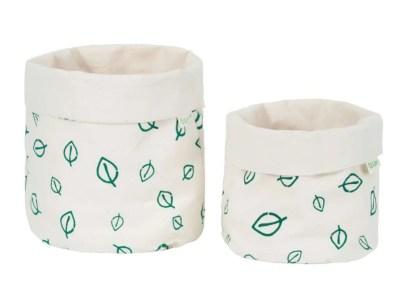 LittleLeaf Leaves Fabric Pots
