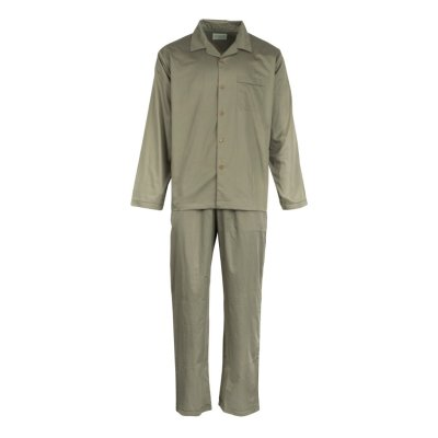 Mens Olive Green Pyjamas