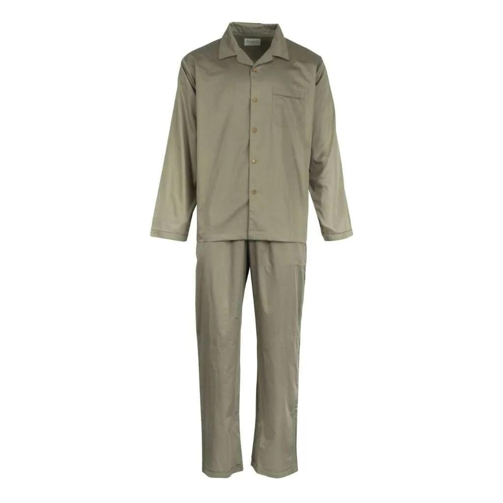 Mens Olive Green Pyjamas