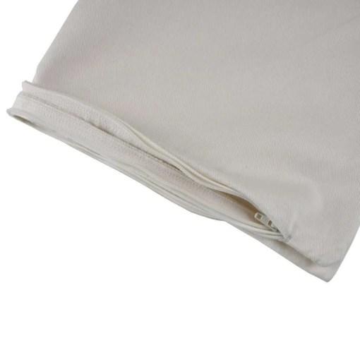 LittleLeaf Organic Cotton Pillow Protector Zip