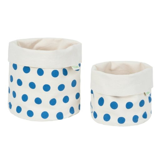 LittleLeaf Spots Fabric Pots
