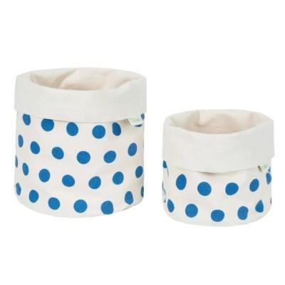 LittleLeaf Spots Fabric Pots