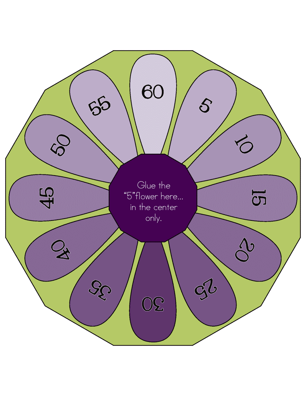 Multiplication Wheel Freebie