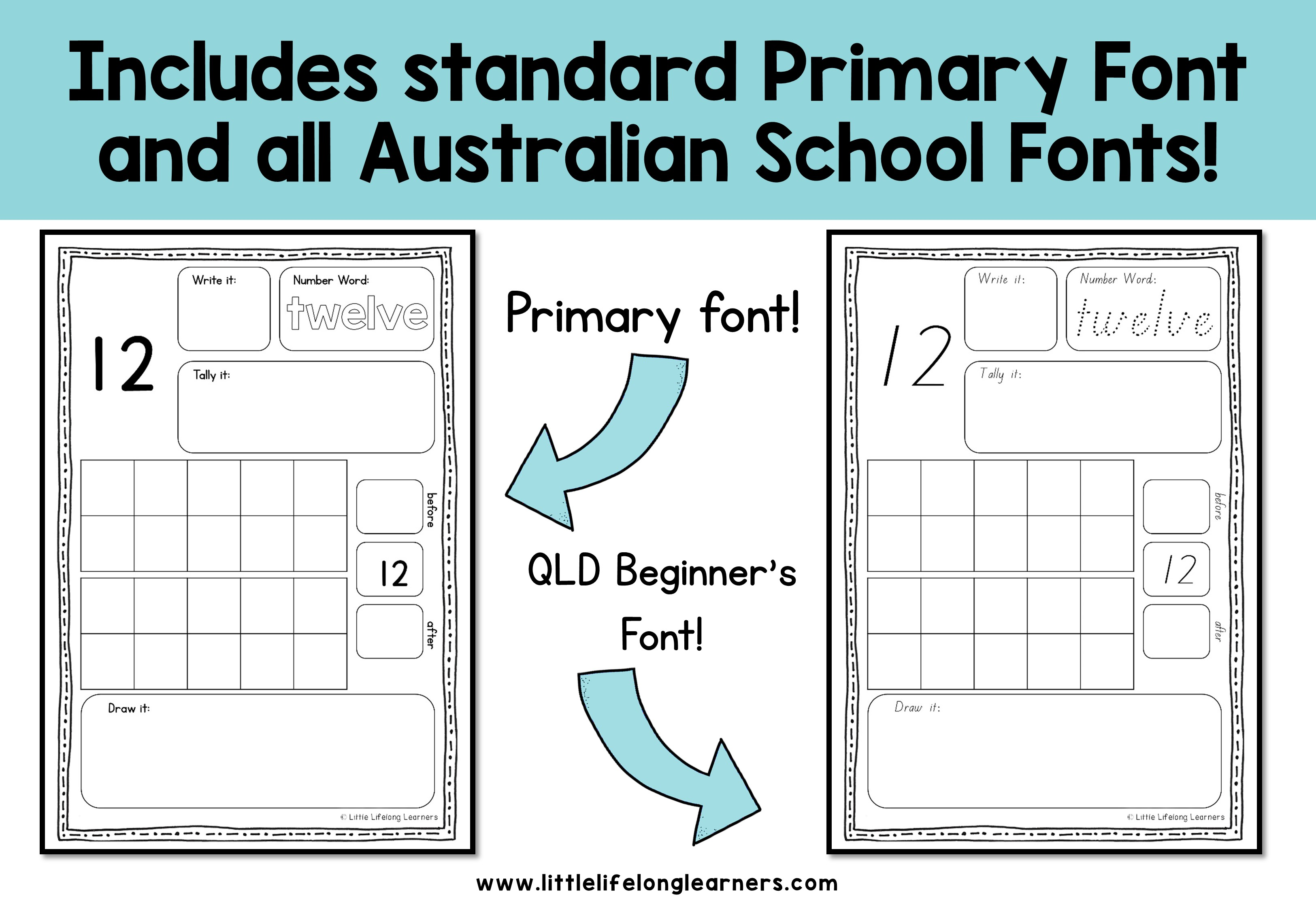 Representing Numbers Activity Sheets