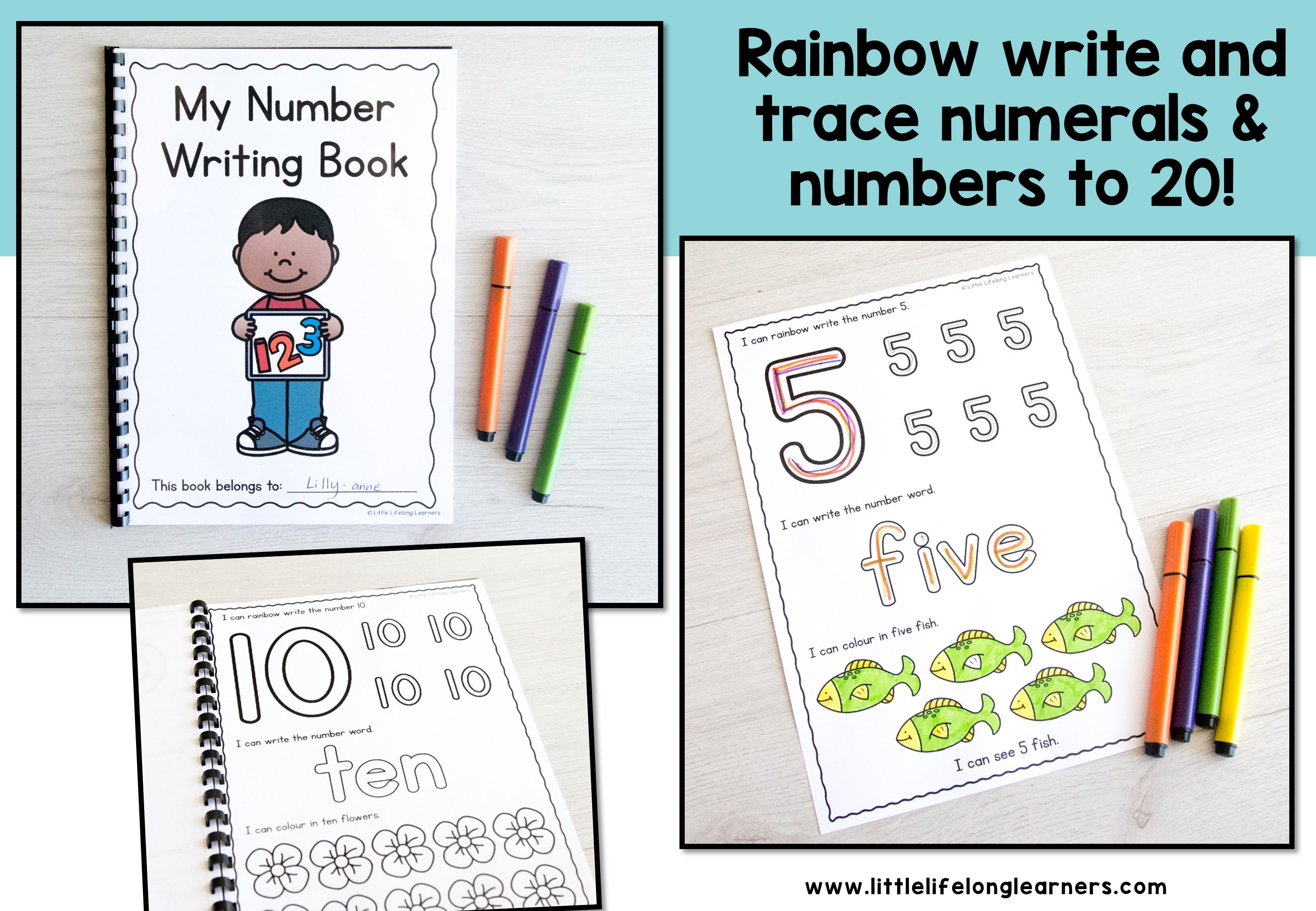 Number Writing Worksheets