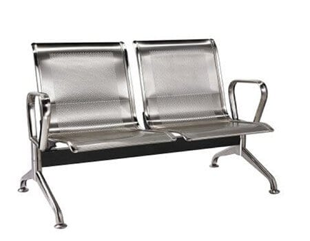 2 seater silverline stainless steel
