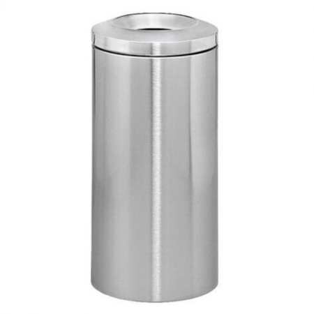 Stainless Steel Bin with Ashtray Lead