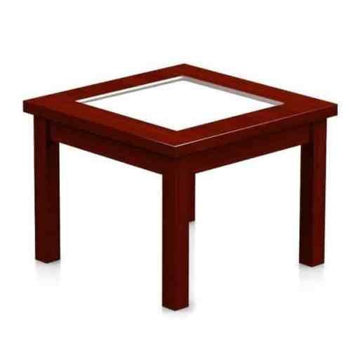 alpha coffee table side glass