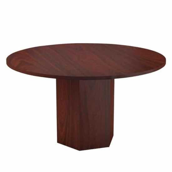 Conference Table with Barrel Legs
