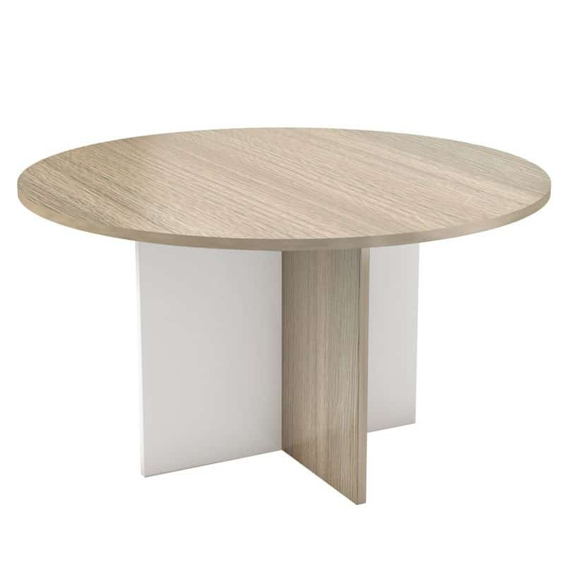 Conference Table with Cross Base Legs