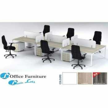 Connect 6 Way Cluster Desk Solution