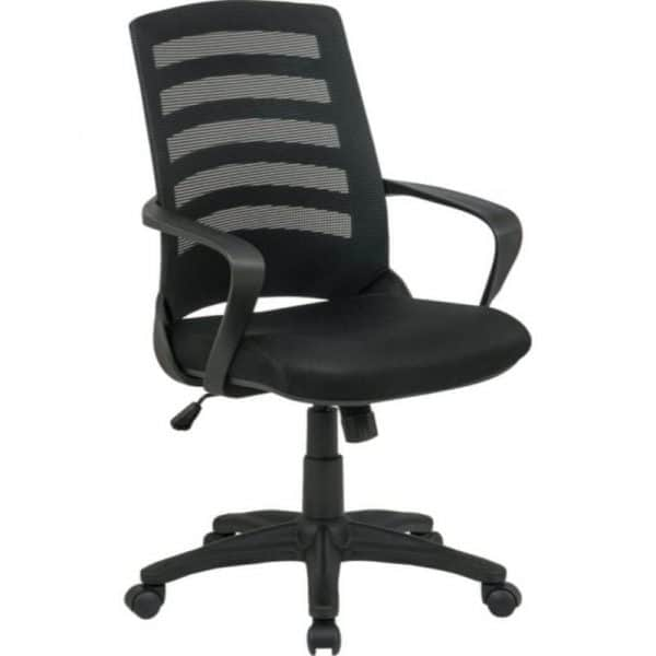 Black Knnight Meshback Chair – Operator's Office Chair