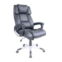 Colombia heavy Duty Leather Padded Office Chair