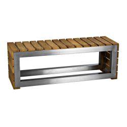 Laminated Wooden Bench  Horizon Block – Heavy Duty Stainless Steel Bench