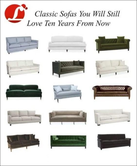 15 Favorite Classic Sofas