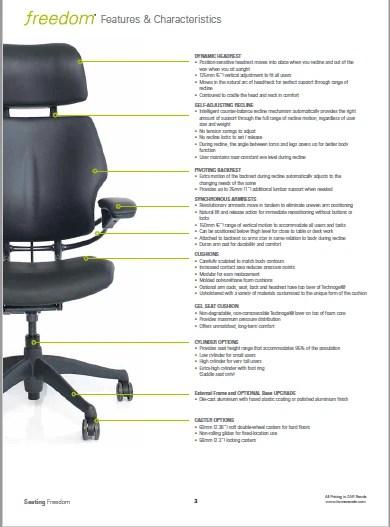 Freedom Ergonomic Chairs