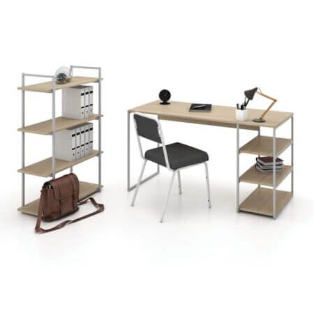 Home Workstation Wih Filing Oppen Cabinet + Plus Chair Combo For R 4999.00 Ex Vat