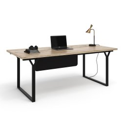 Note Front Modesty Panel Desk