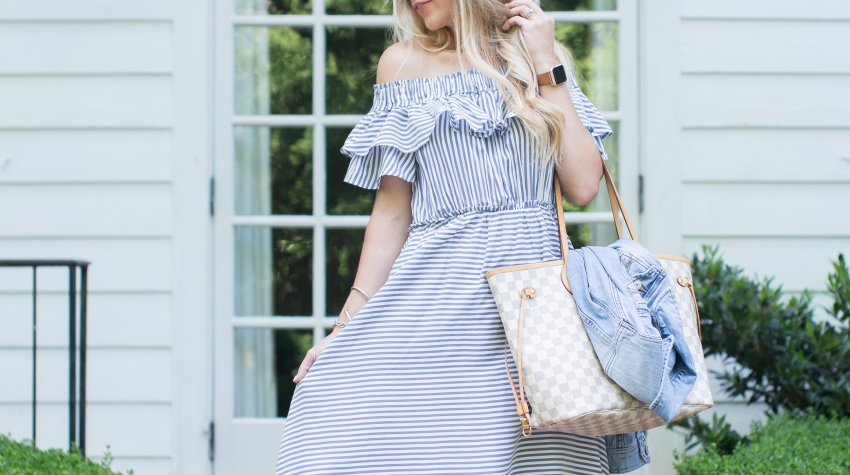 one dress 3 ways from Loft + huge savings on your favorite stores