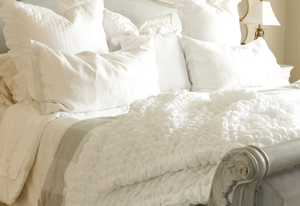Master Bed Facelift with Serena and Lily