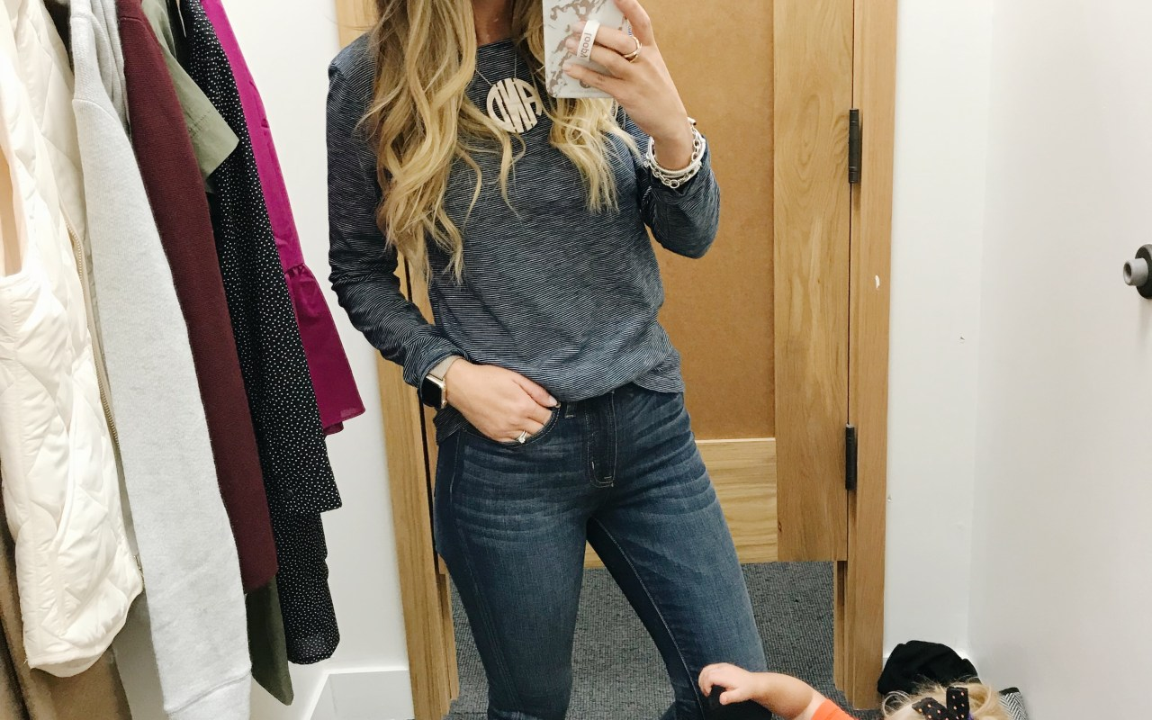J Crew Try-on Haul + Weekend Sales (Including T3 Wand for 20% Off)