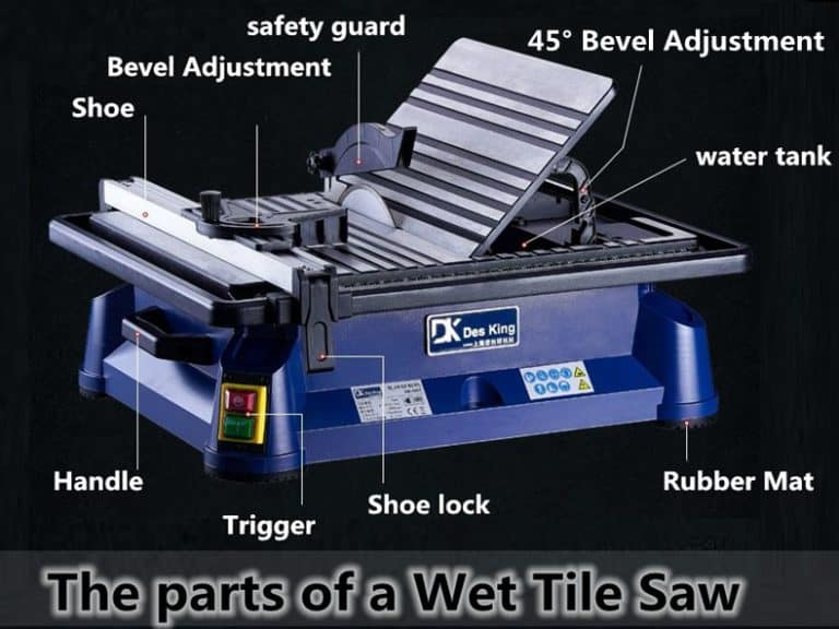 how to use a wet tile saw like a pro