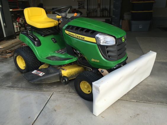 snow plow blades get closer to the ground than snow blowers and are easily mounted on many models of snapper lawn tractors. 20 Homemade Snow Plow How To Build A Snow Plow