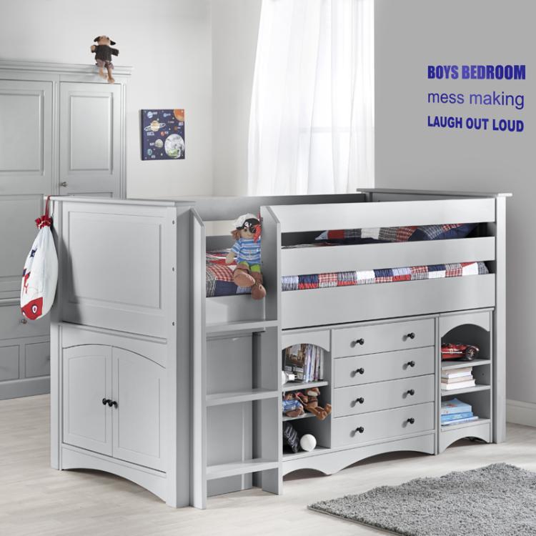Archie Cabin Bed Boys Beds Kids Bedrooms Childrens