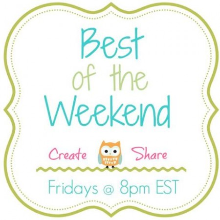 Create and Share! Best of the Weekend Party at littlemisscelebration.com