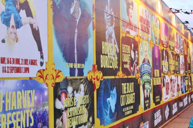 London Wonderground show posters