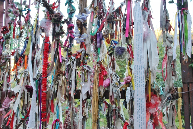 Cross Bones graveyard ribbons