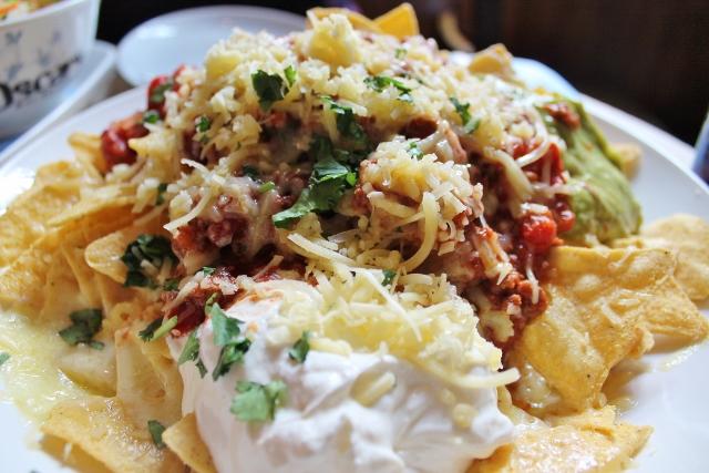 Oscar's in York nachos