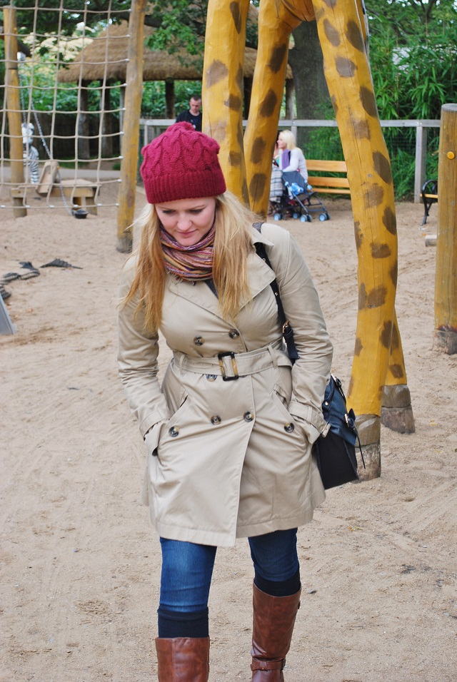 Katy in the play park at Dublin Zoo