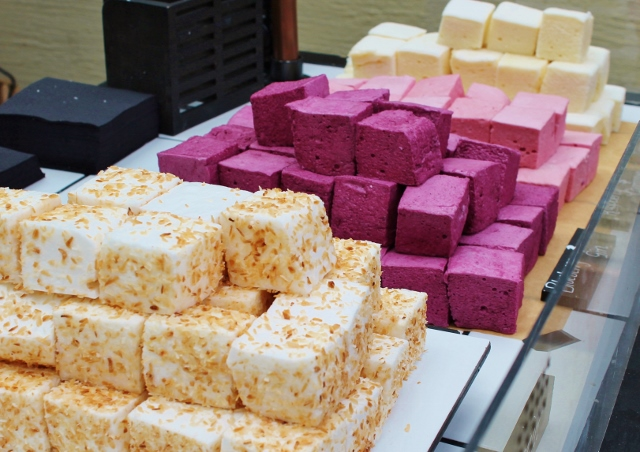 home-made marshmallows