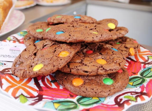 Primrose Bakery M&M cookies