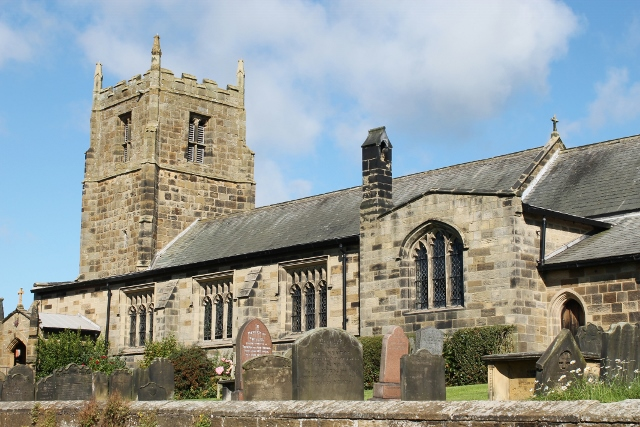 Osmotherley village church
