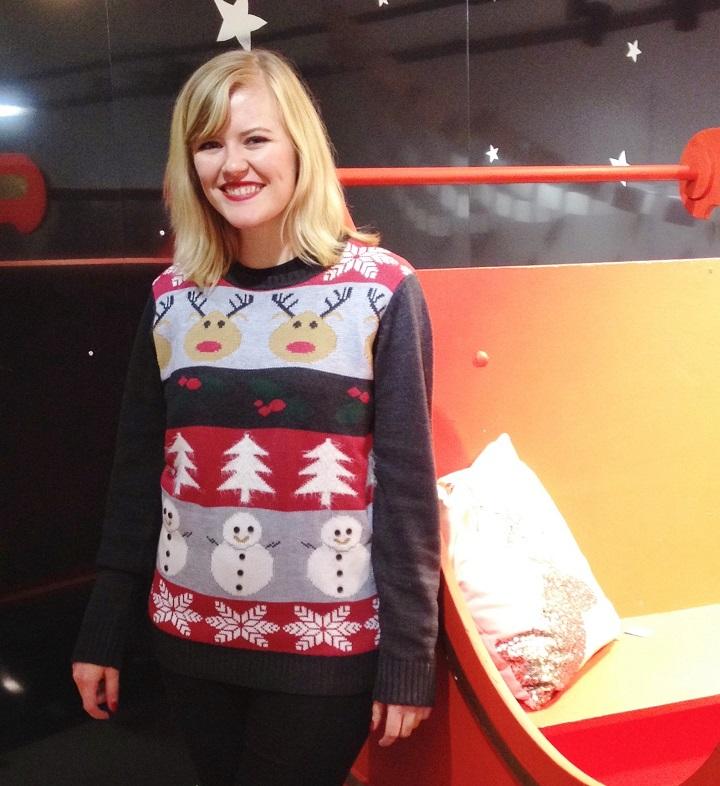 Debenhams Christmas Jumper Party