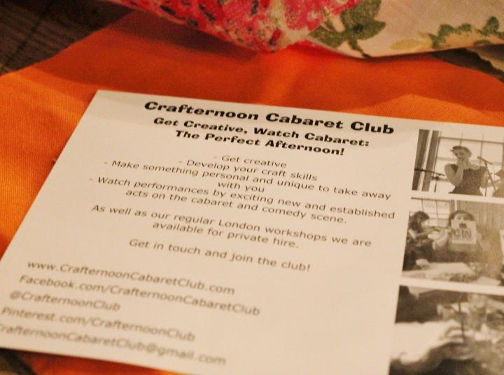 Crafternoon Cabaret