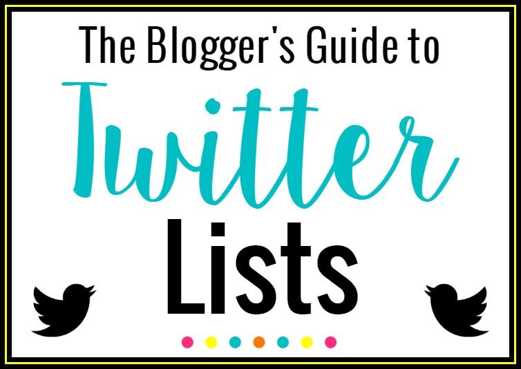 Blog Twitter Lists