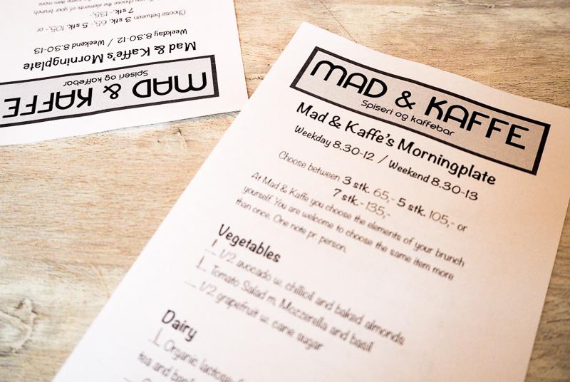 Mad and Kaffe brunch Copenhagen