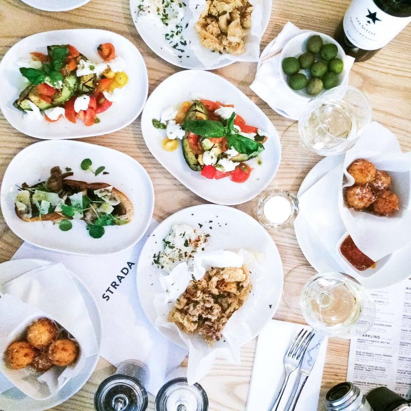 Delicious Italian Food at Strada