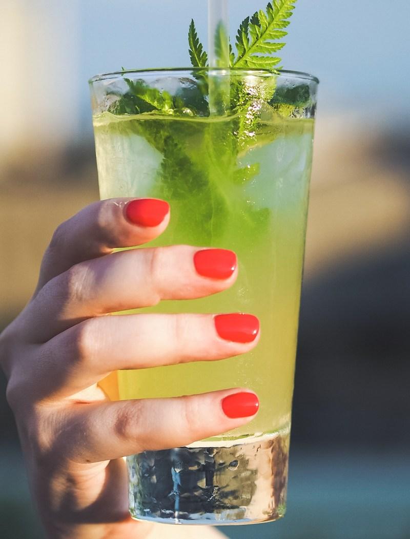 Gin Cocktails on Selfridges Roof Bar