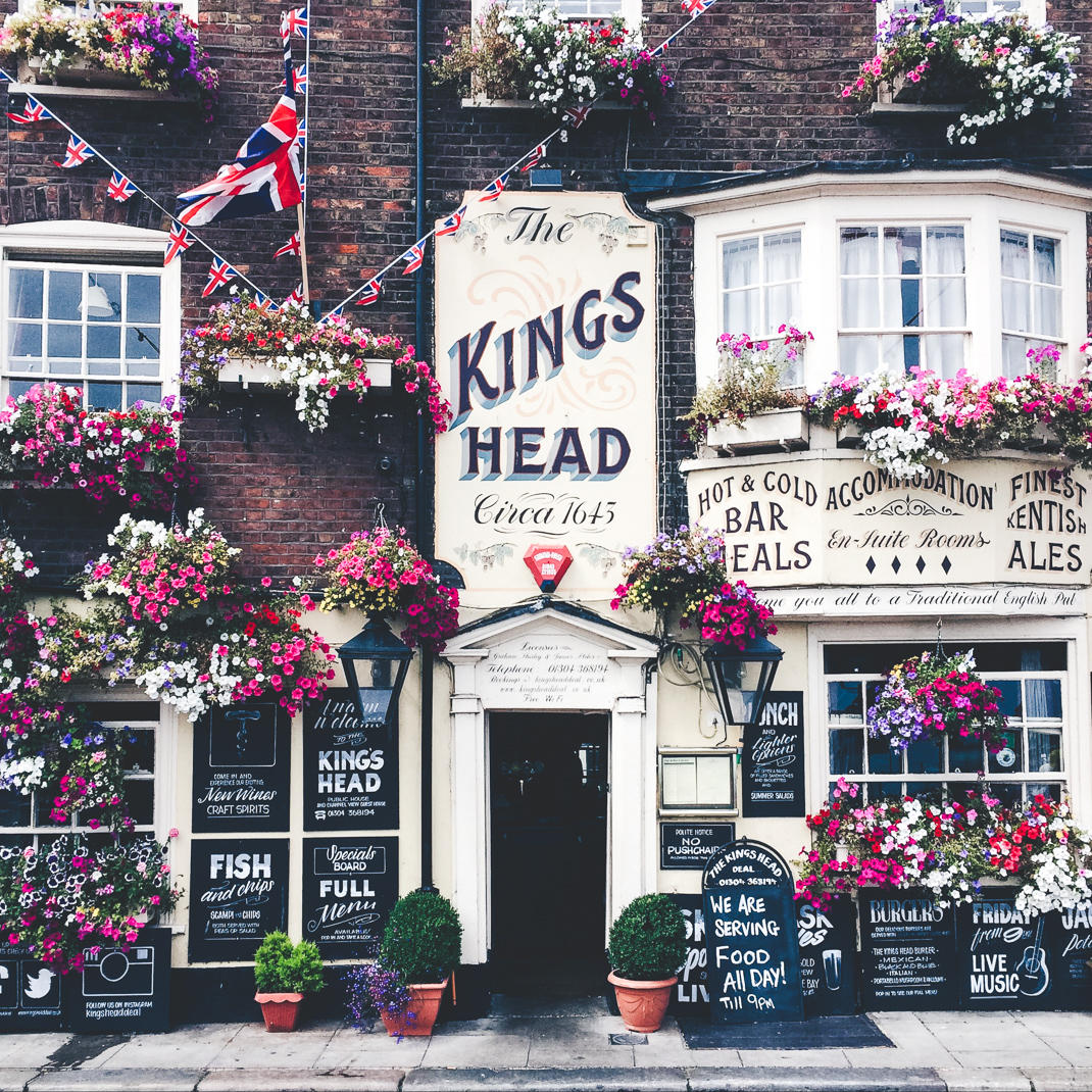kings head pub deal