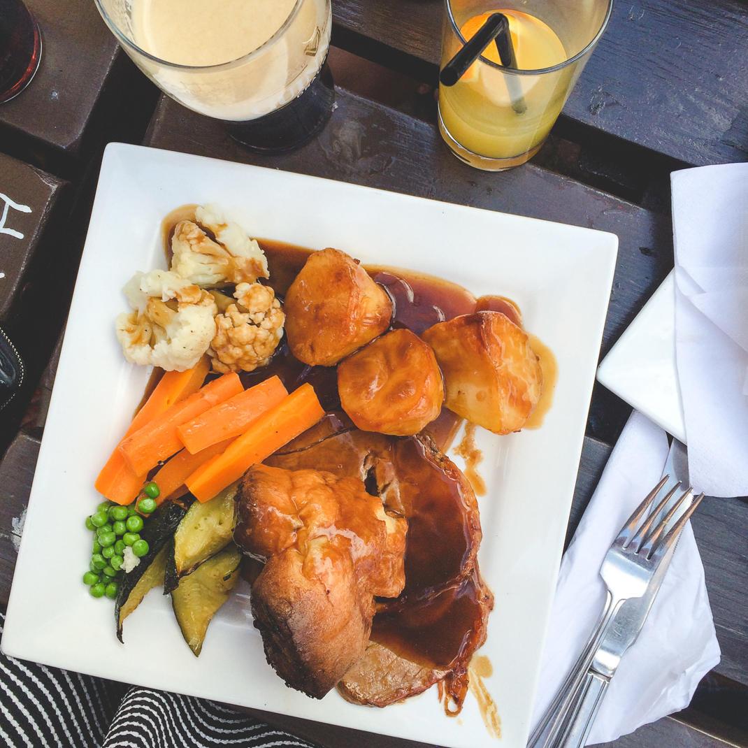 english roast dinner