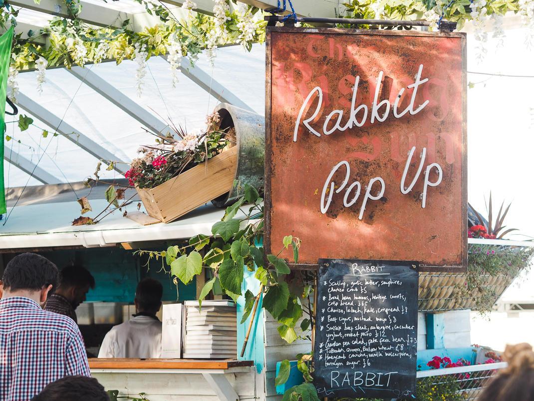 rabbit pop up london