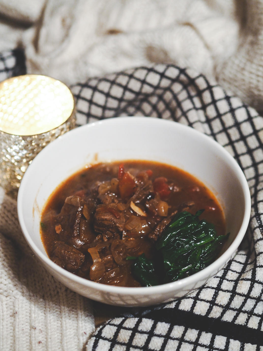 beef and mulled wine stew