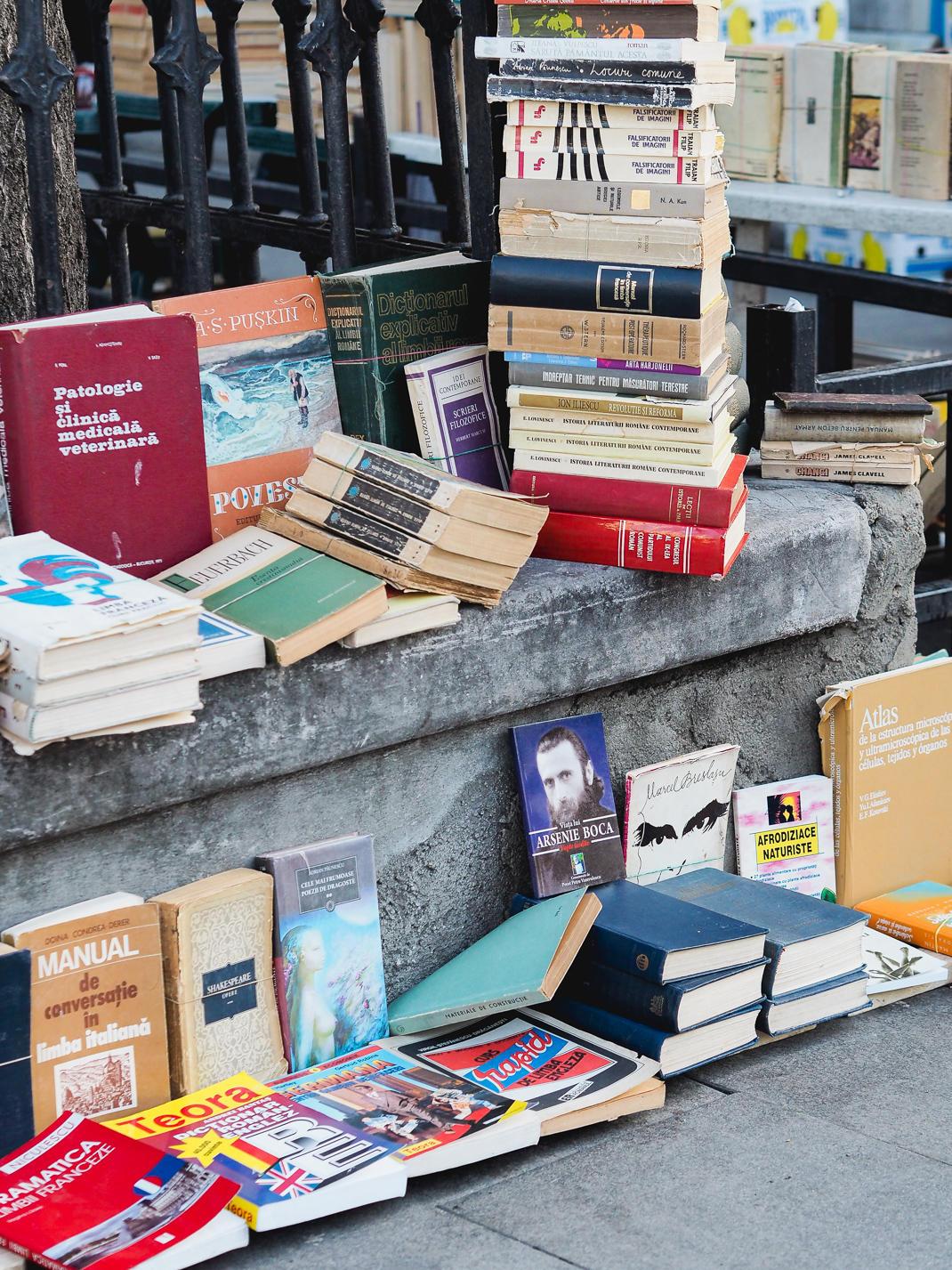 bucharest book seller