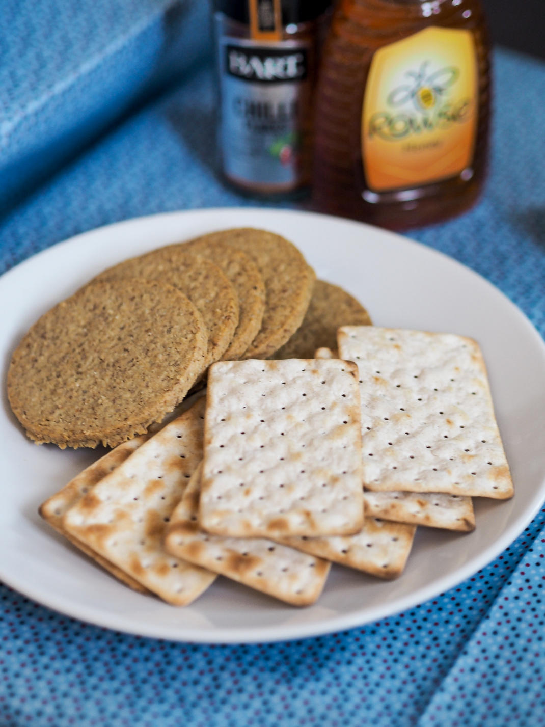 crackers and oat cakes
